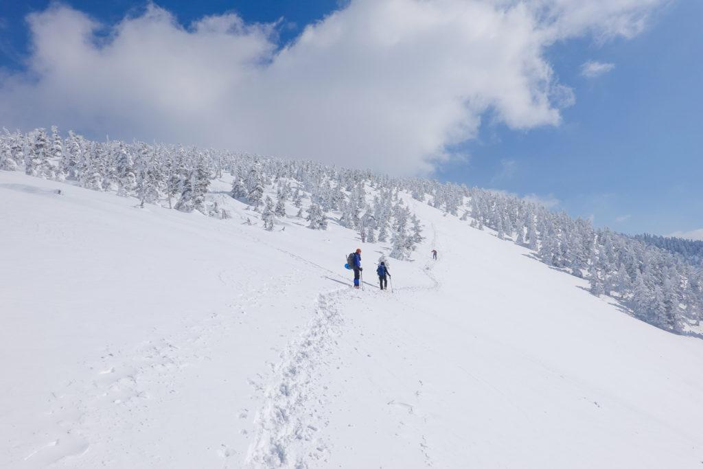 残雪期・西吾妻山・西大巓から西吾妻山へ2