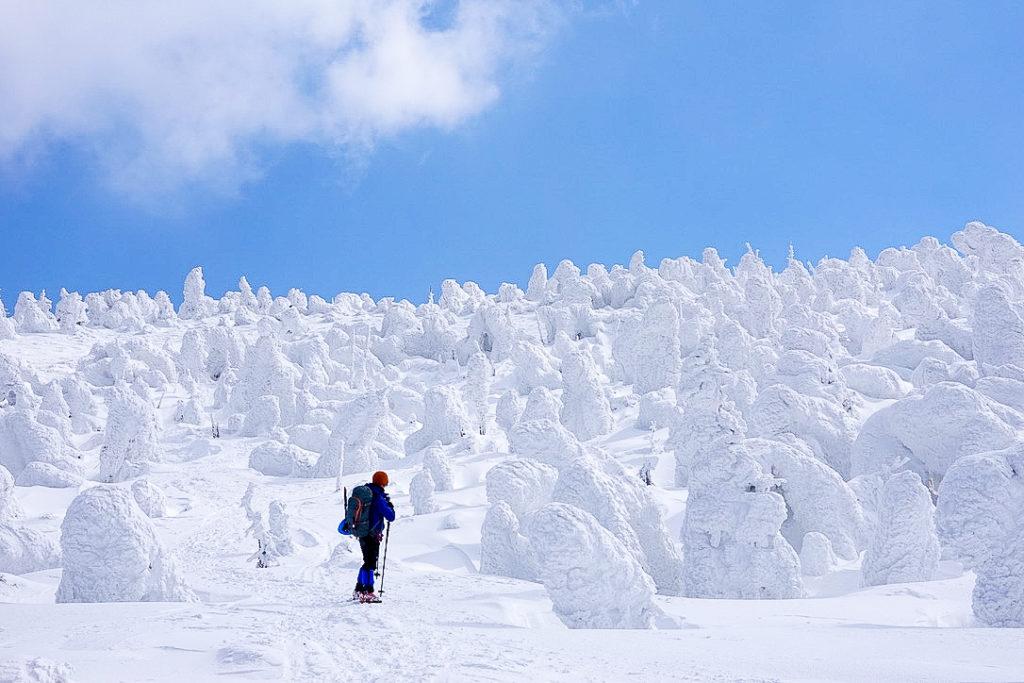 残雪期・西吾妻山・西吾妻山のスノーモンスター