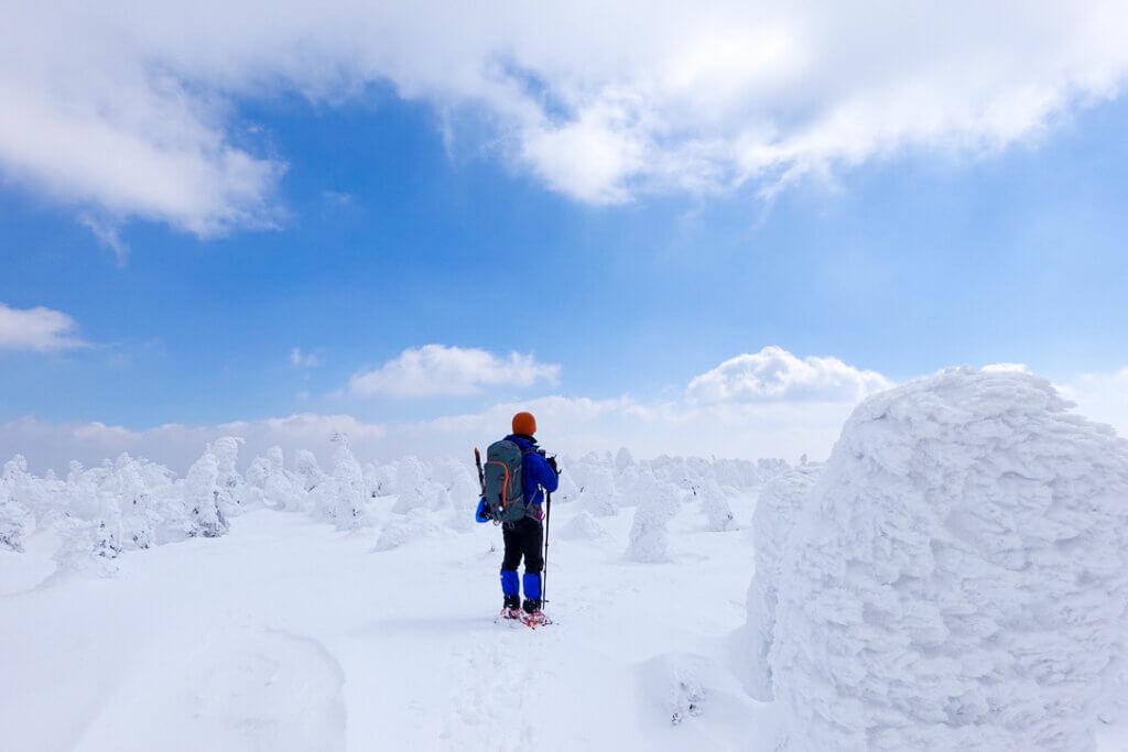 残雪期・西吾妻山・西吾妻山山頂