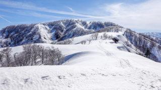 残雪期・日向倉山