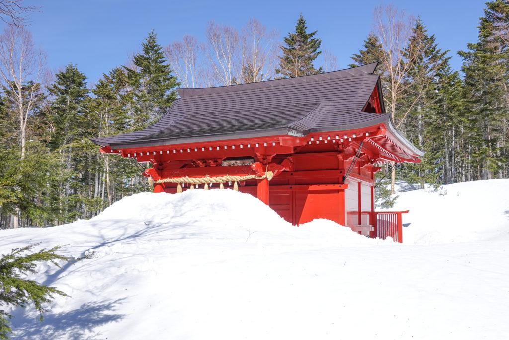 残雪期・日光白根山・二荒山神社