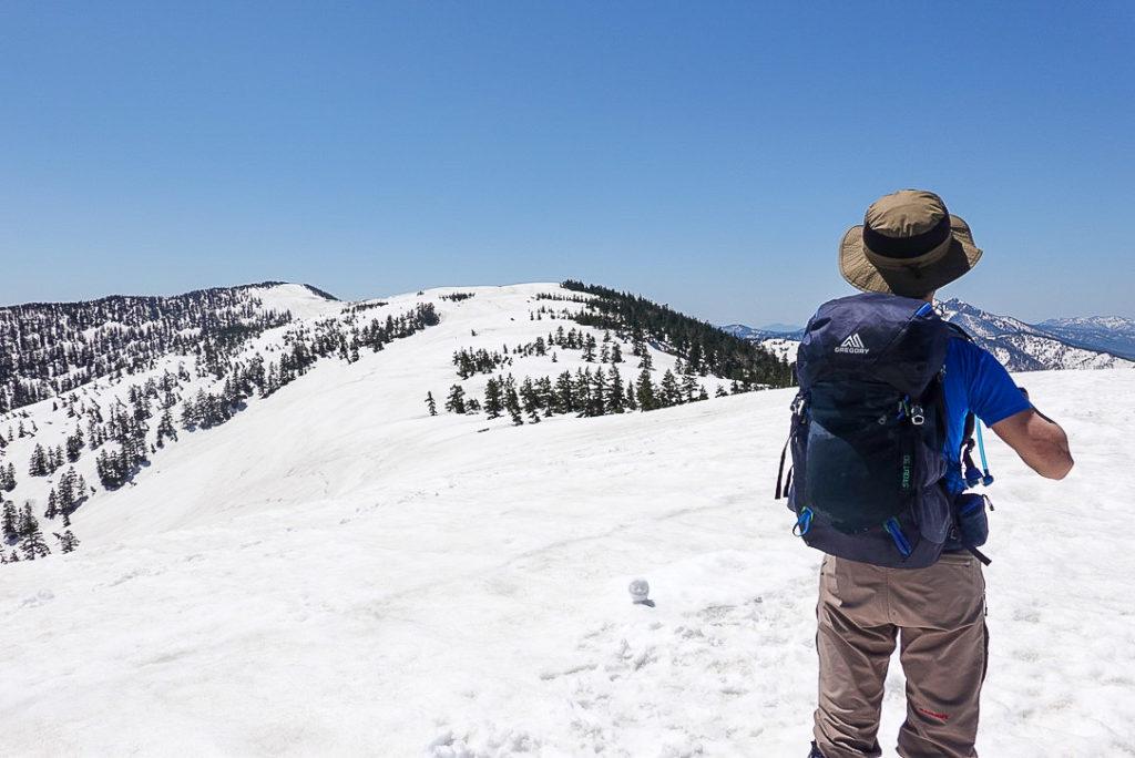 残雪期・会津駒ヶ岳・中門岳から会津駒ヶ岳へ