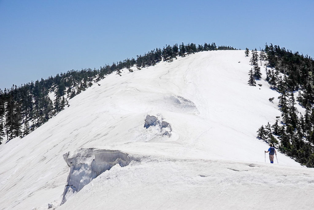 残雪期・会津駒ヶ岳・会津駒ヶ岳への最後の登り