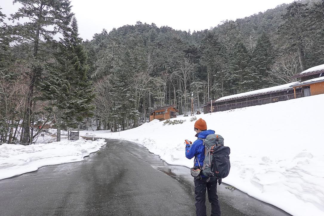 残雪期・甲斐駒ヶ岳・太平山荘