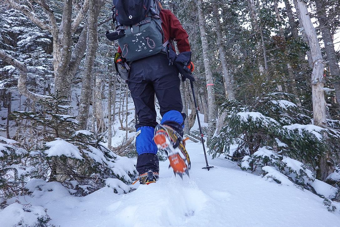 残雪期・甲斐駒ヶ岳・新雪の双児山