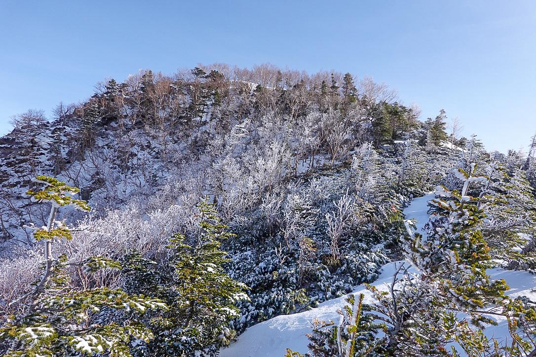 残雪期・甲斐駒ヶ岳・双児山