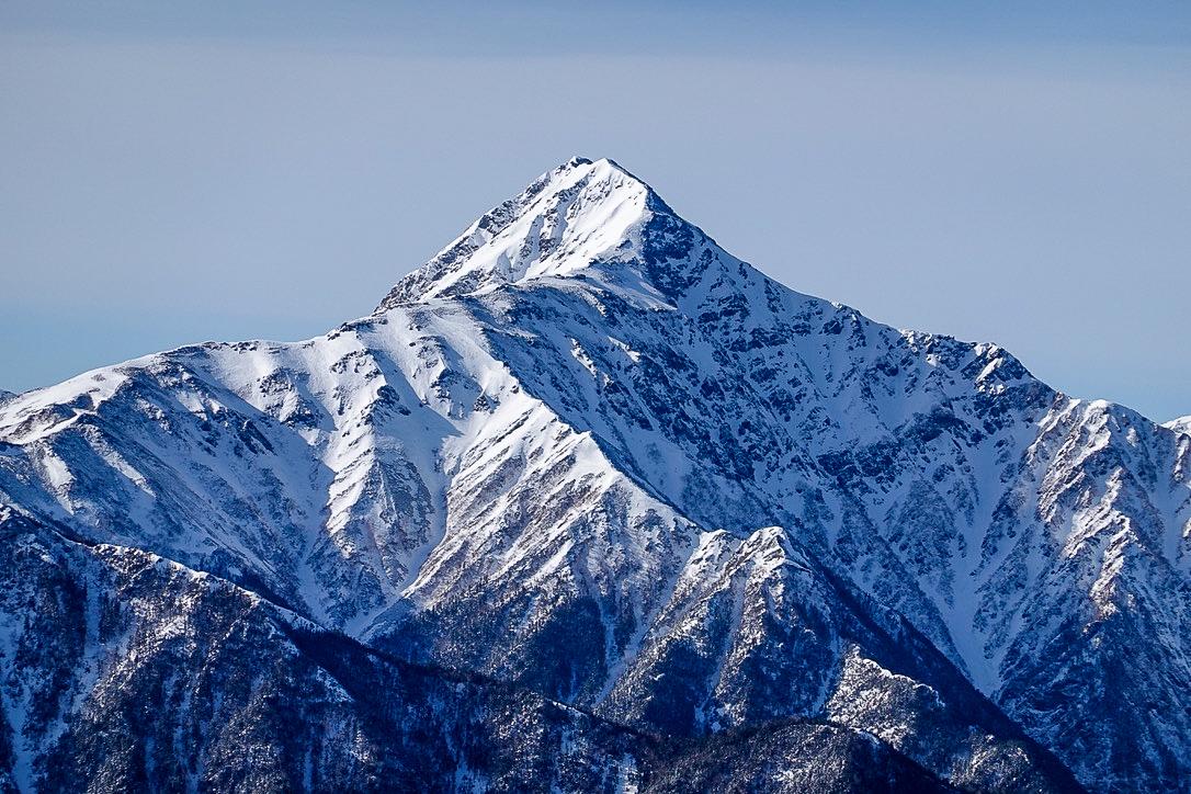残雪期・甲斐駒ヶ岳・北岳