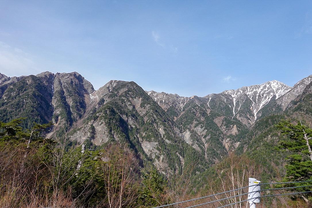 残雪期・甲斐駒ヶ岳・二百名山、鋸岳