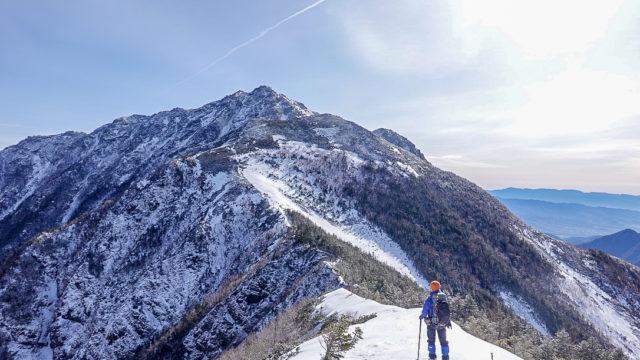 残雪期・甲斐駒ヶ岳