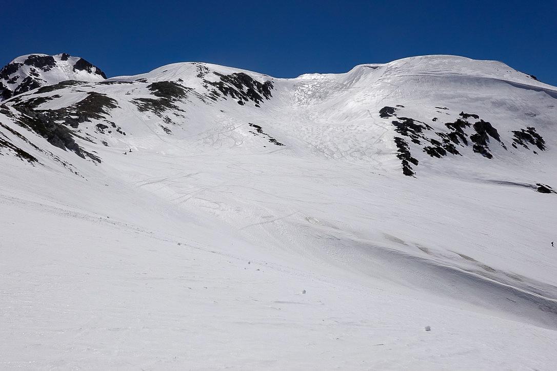 残雪期・立山(雄山)・浄土山