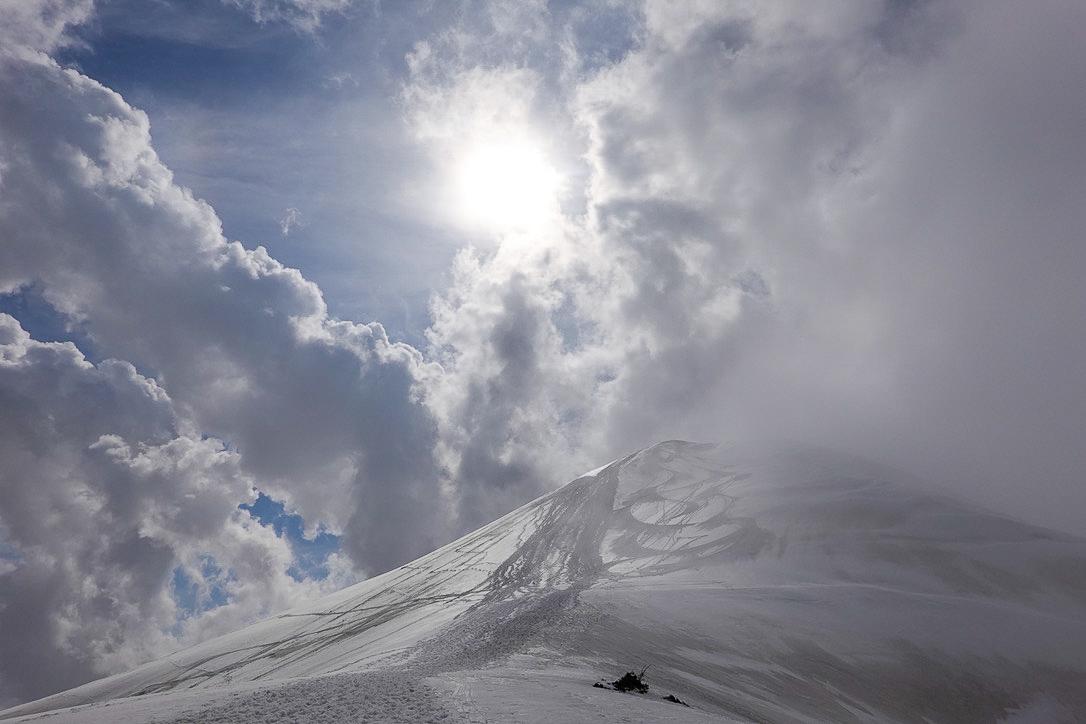 残雪期・奥大日岳・再びの室堂乗越