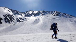 残雪期・立山(雄山)
