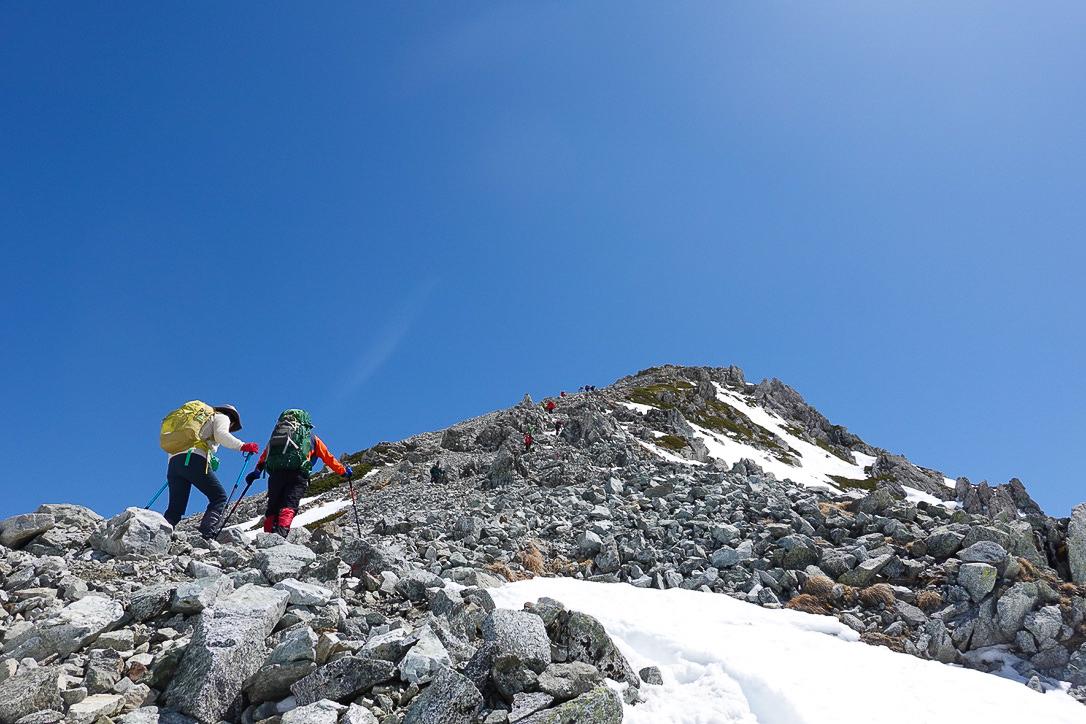残雪期・立山(雄山)・一ノ越から雄山へ