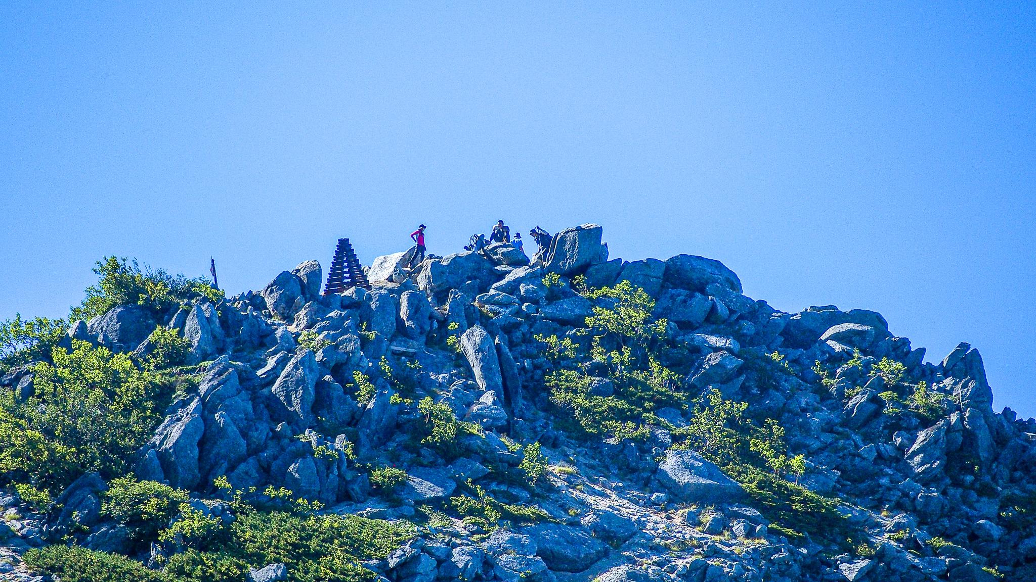 鳳凰三山・観音岳山頂