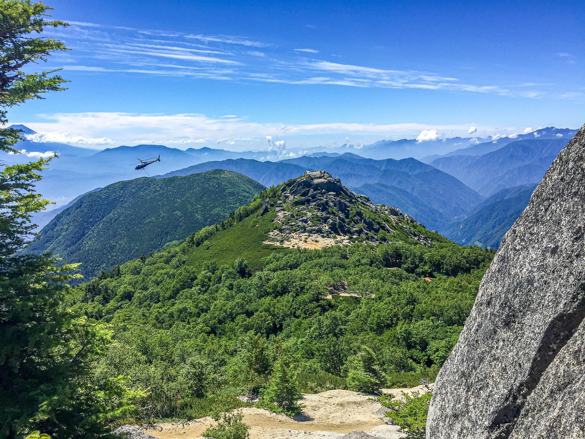 鳳凰三山・砂払岳