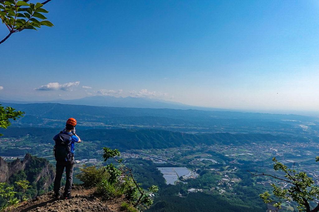 妙義山・表妙義(白雲山、相馬岳)・見晴からの展望1