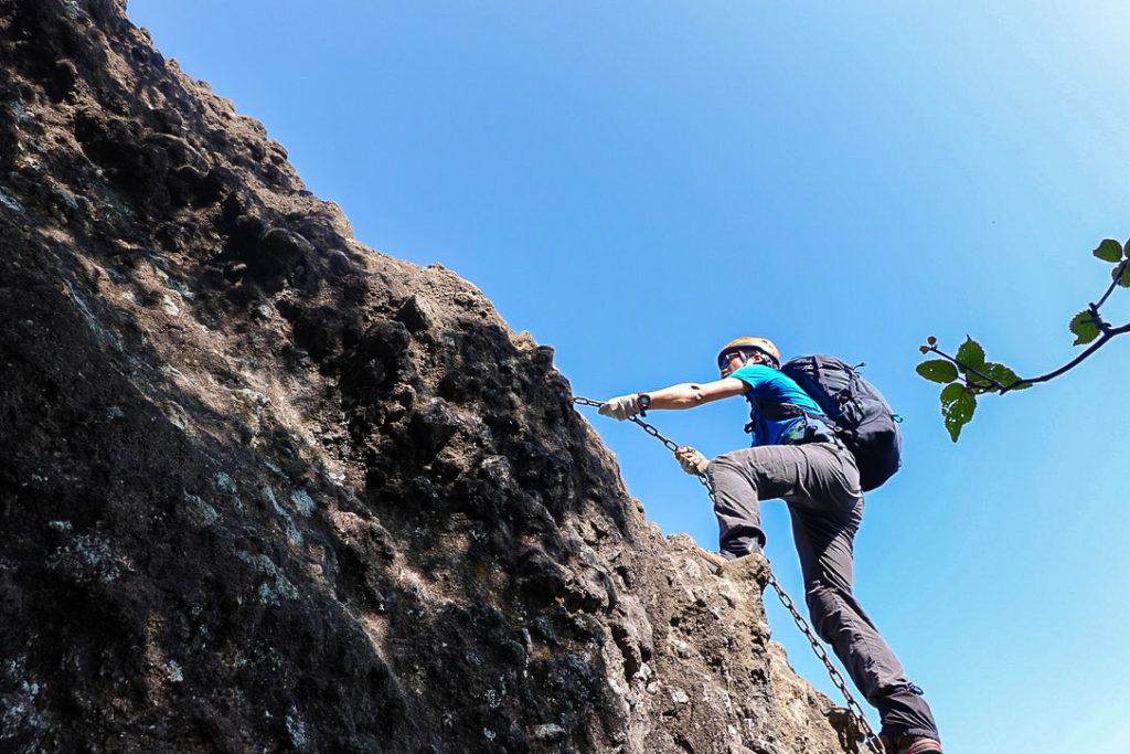 妙義山・表妙義(白雲山、相馬岳)・ビビリ岩