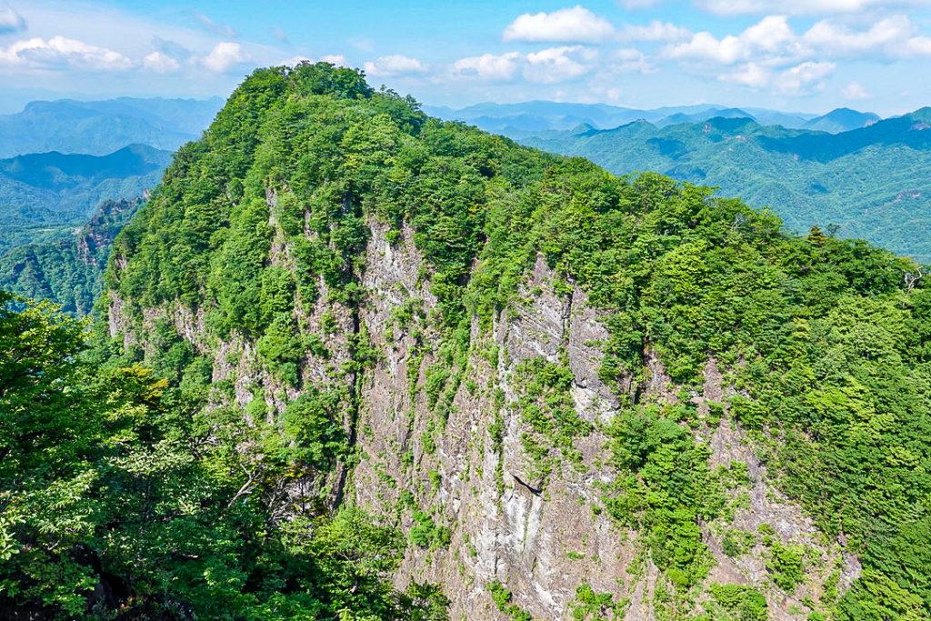 妙義山・表妙義(白雲山、相馬岳)・西肩からの相馬岳