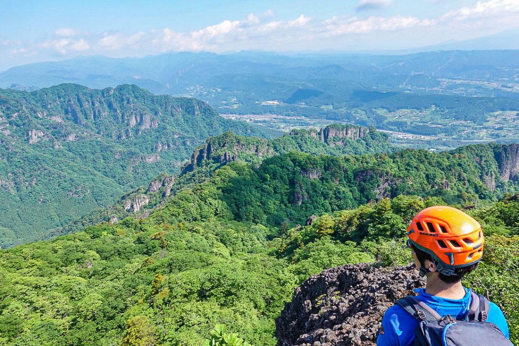 妙義山・表妙義(白雲山、相馬岳)・白雲山からの展望2