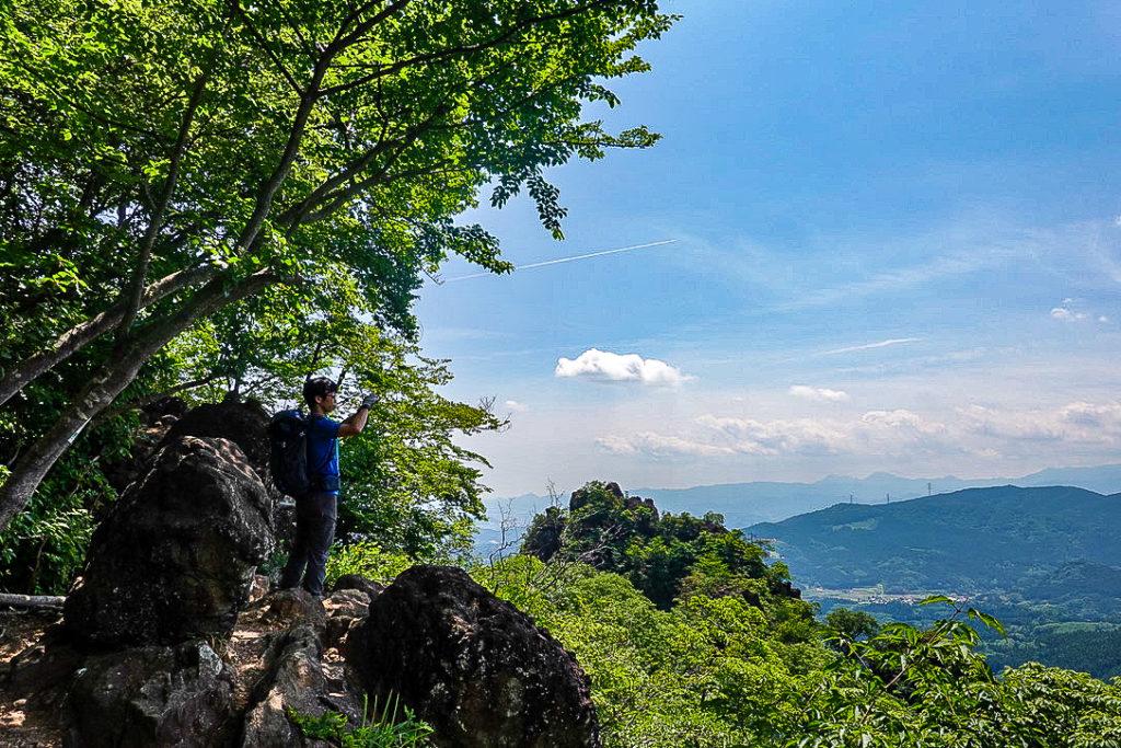 妙義山・表妙義(白雲山、相馬岳)・中間道・第二見晴