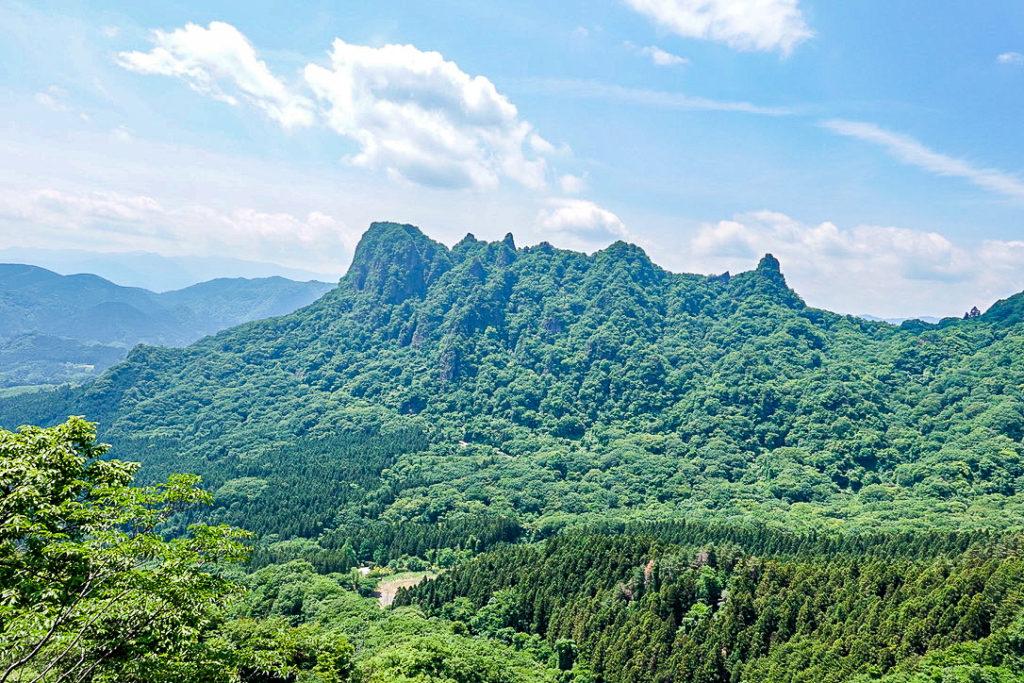 妙義山・表妙義(白雲山、相馬岳)・中間道・第二見晴からの景観