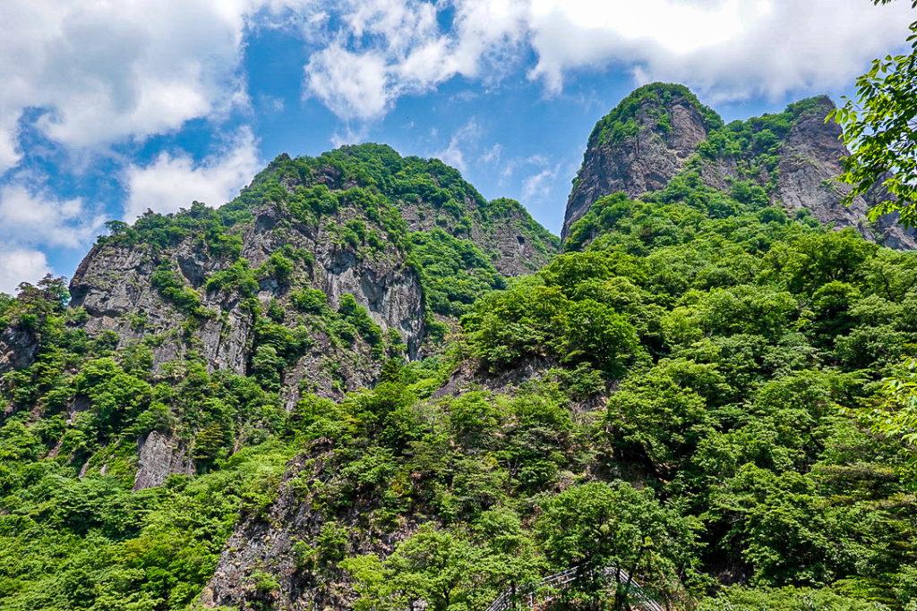 妙義山・表妙義(白雲山、相馬岳)・中間道・第二見晴からの景観2