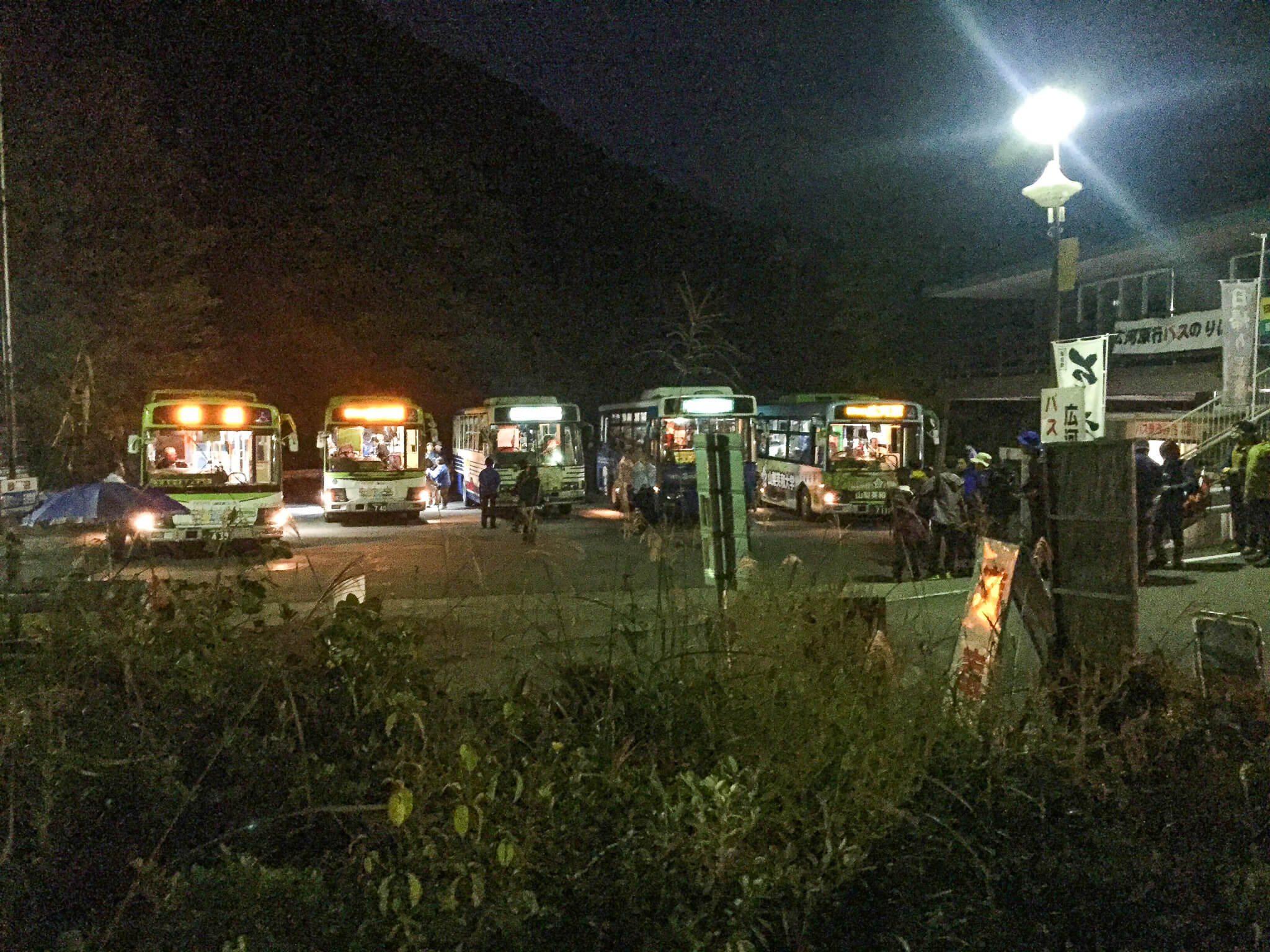 北岳・芦安駐車場