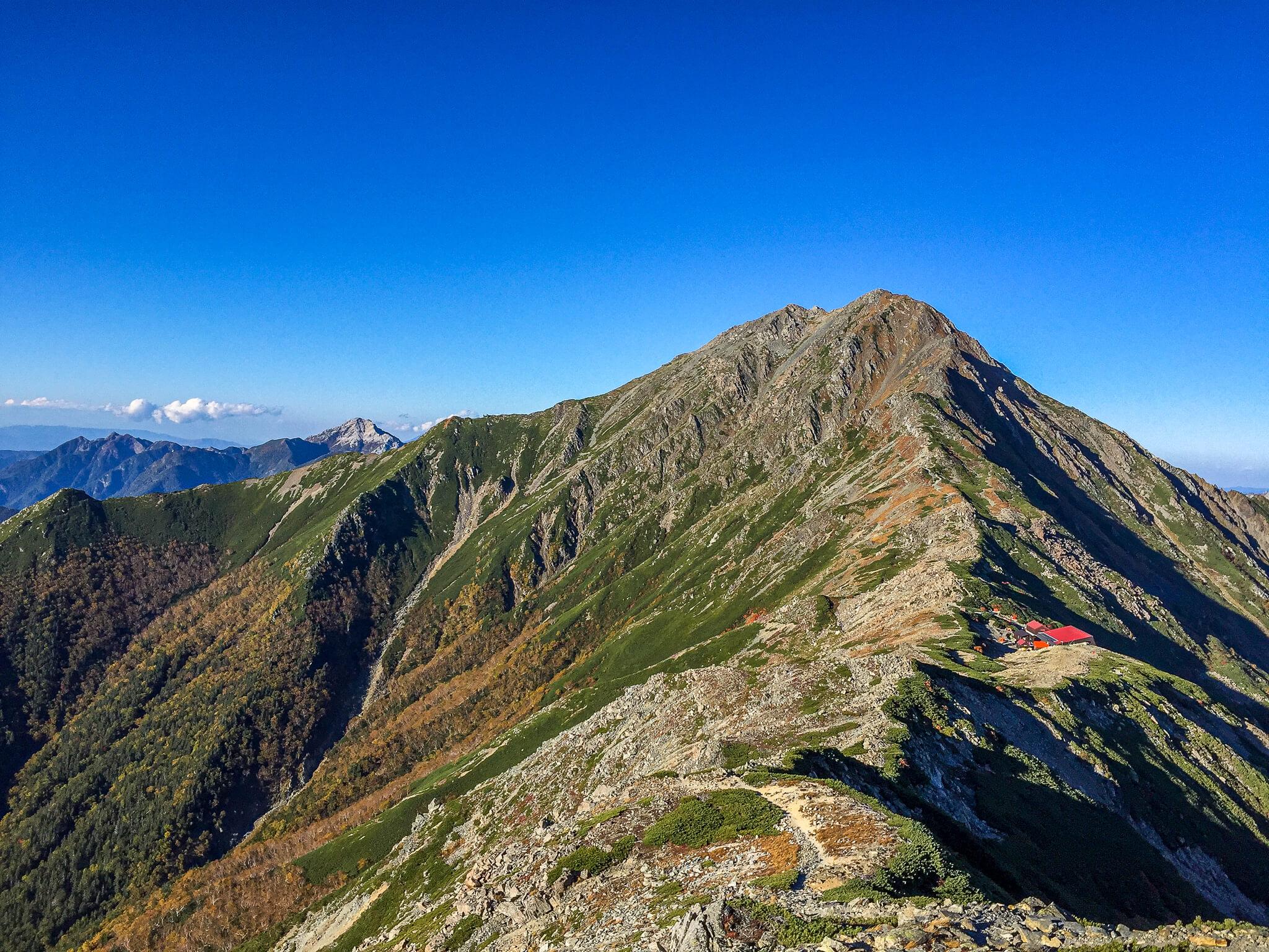 北岳・北岳、甲斐駒、北岳山荘