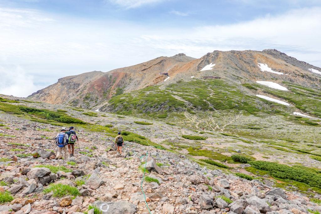 御嶽山・摩利支天山からの御嶽山は絶景です