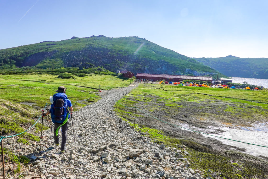白馬岳・乗鞍岳と白馬大池山荘