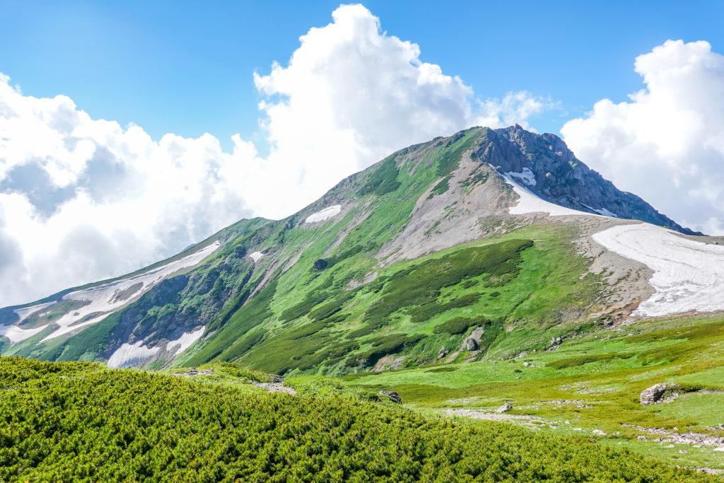 白馬岳・丸山からの旭岳