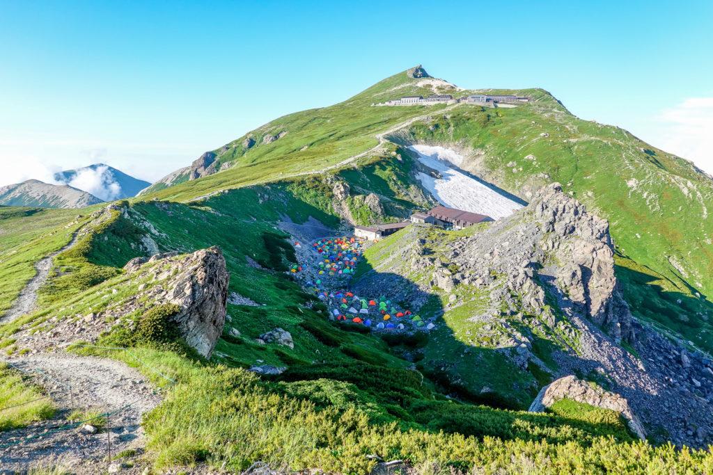 白馬岳・丸山からの白馬岳(その2)