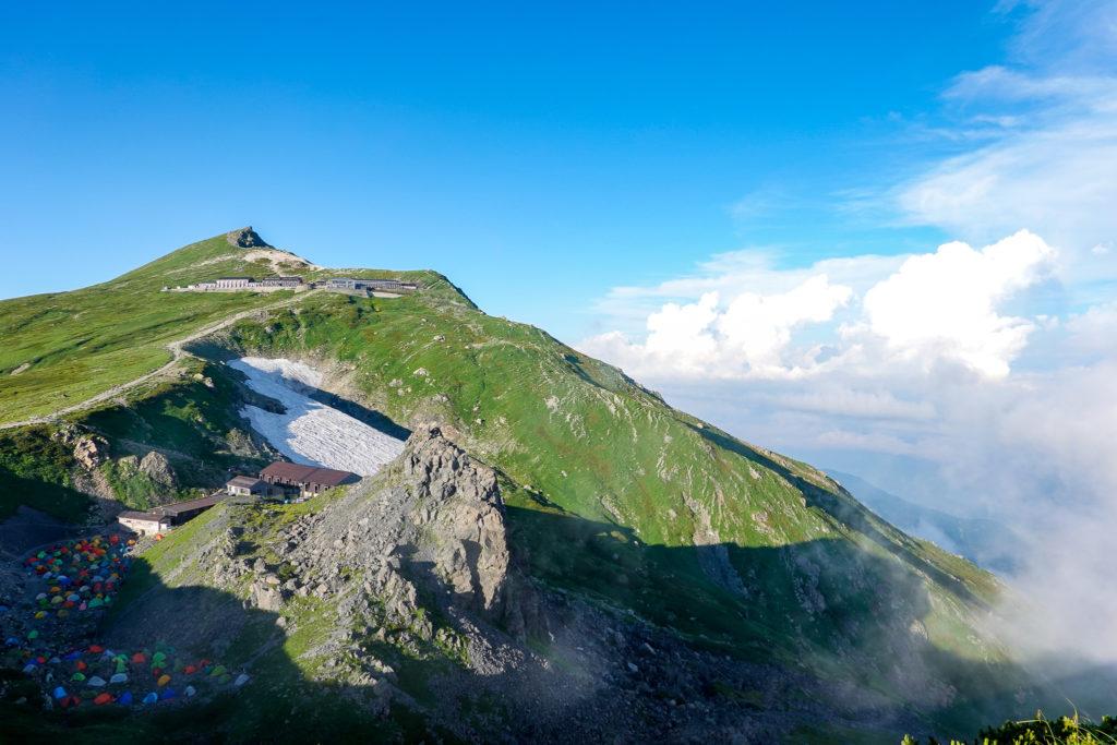 白馬岳・丸山からの白馬岳(その3)