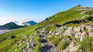 白馬岳・丸山からの白馬岳