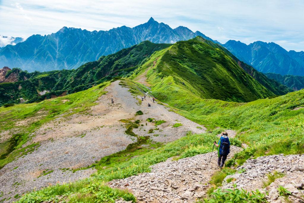 裏銀座・樅沢岳から左俣岳へ2