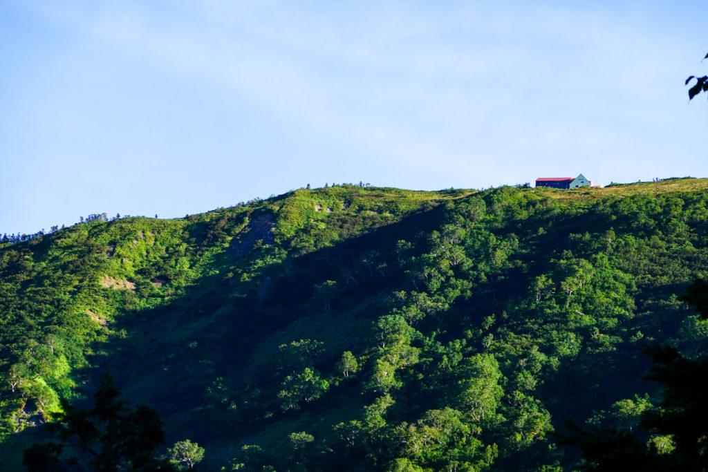 鹿島槍ヶ岳・爺ヶ岳・種池山荘が見えた!