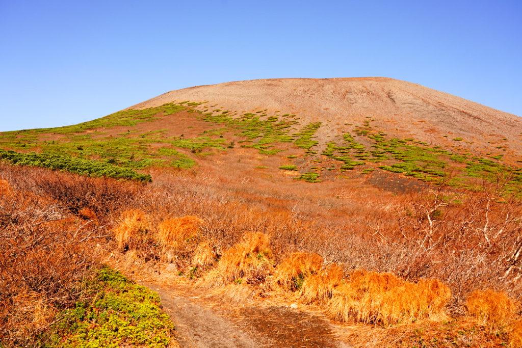 岩手山・7合目付近からの岩手山