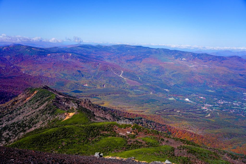 岩手山・岩手山山頂からの景観その2