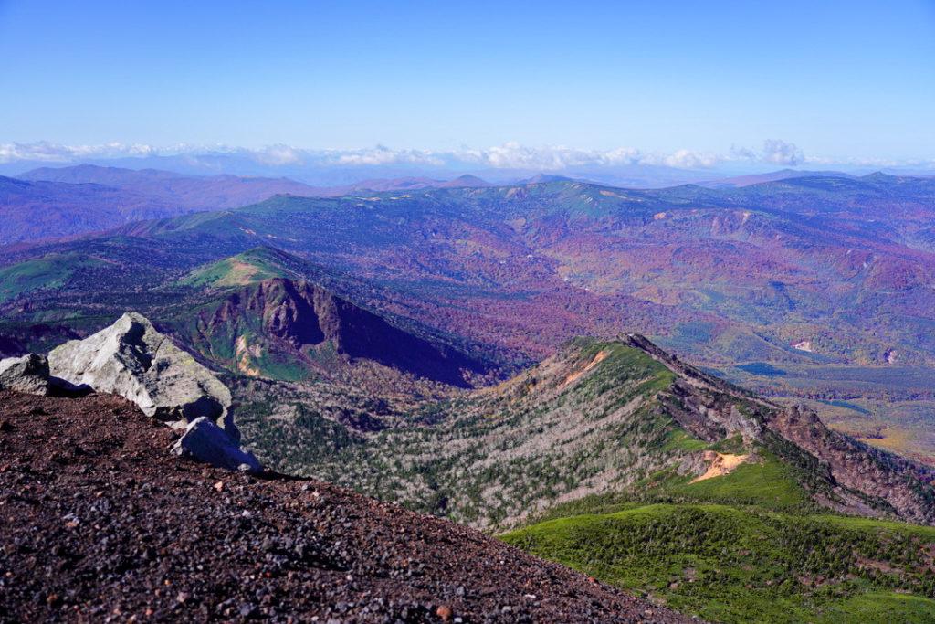 岩手山・岩手山山頂からの景観