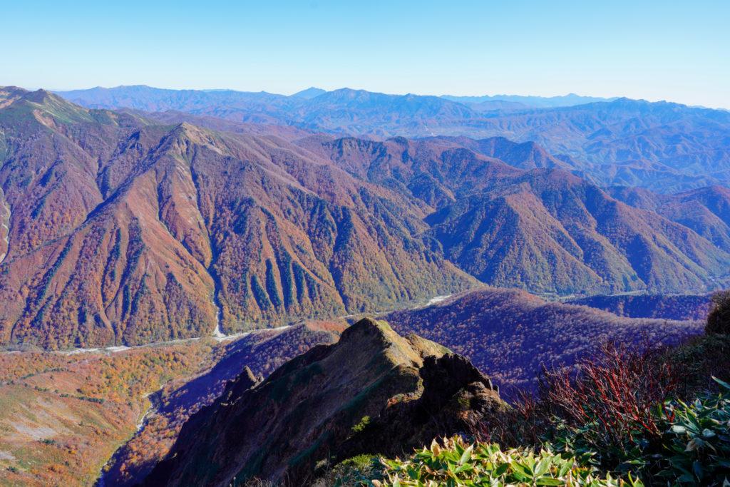 谷川岳・オキノ耳からの展望2