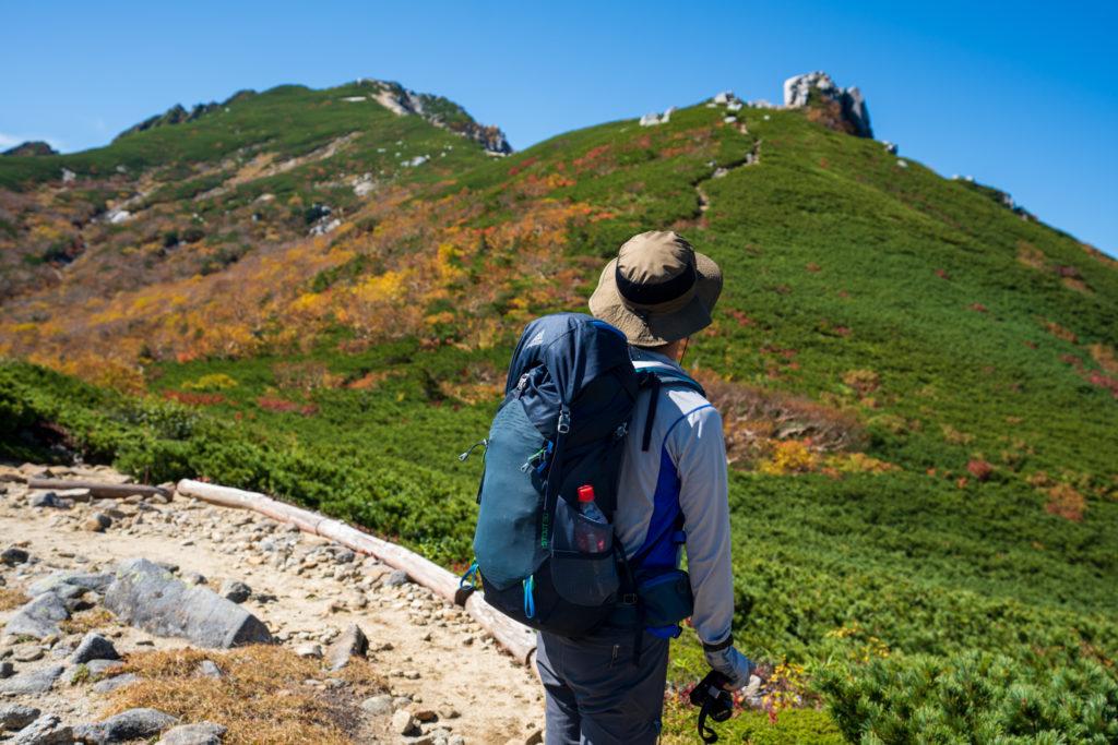 空木岳・駒石へ2