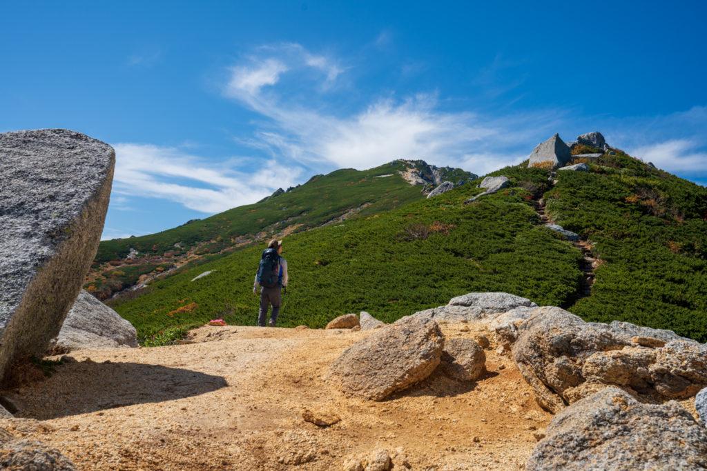 空木岳・巨石、奇石だらけの空木岳