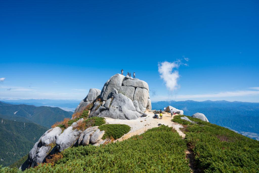 空木岳・駒石は登れます