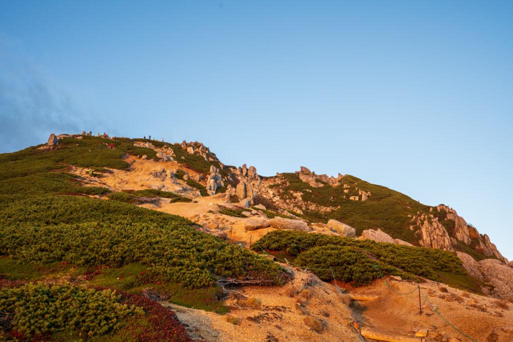 空木岳・山頂からご来光を楽しむ