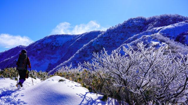 積雪期・荒島岳