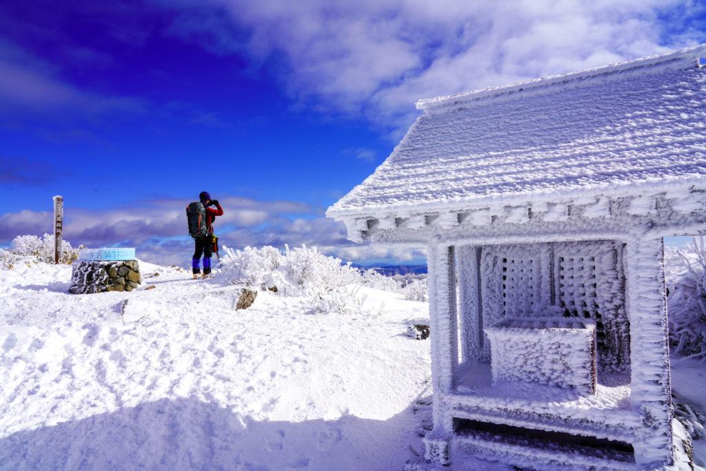 積雪期・荒島岳・荒島岳山頂