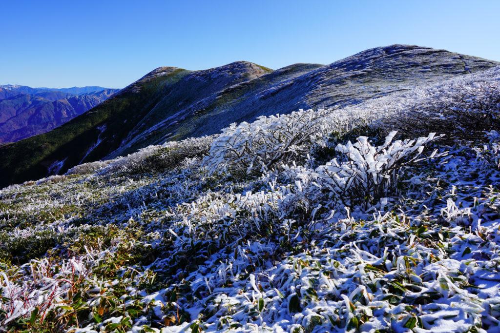 平標山・仙ノ倉山・雪だるまの季節が近づいてまいりました。