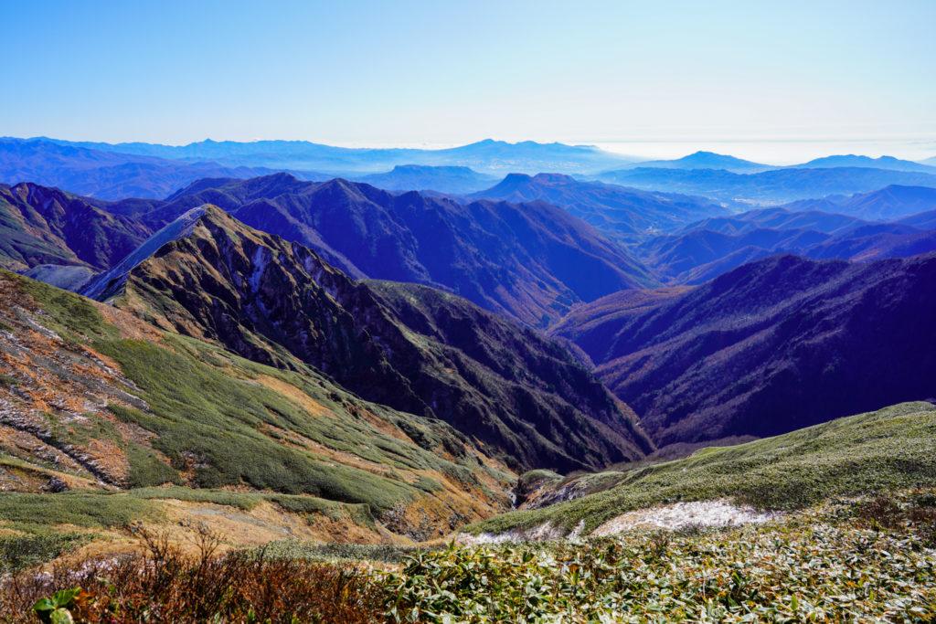 平標山・仙ノ倉山・仙ノ倉山から見る榛名山