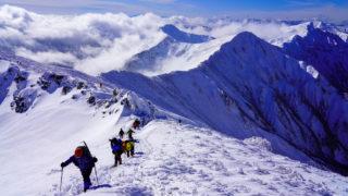 積雪期・谷川岳