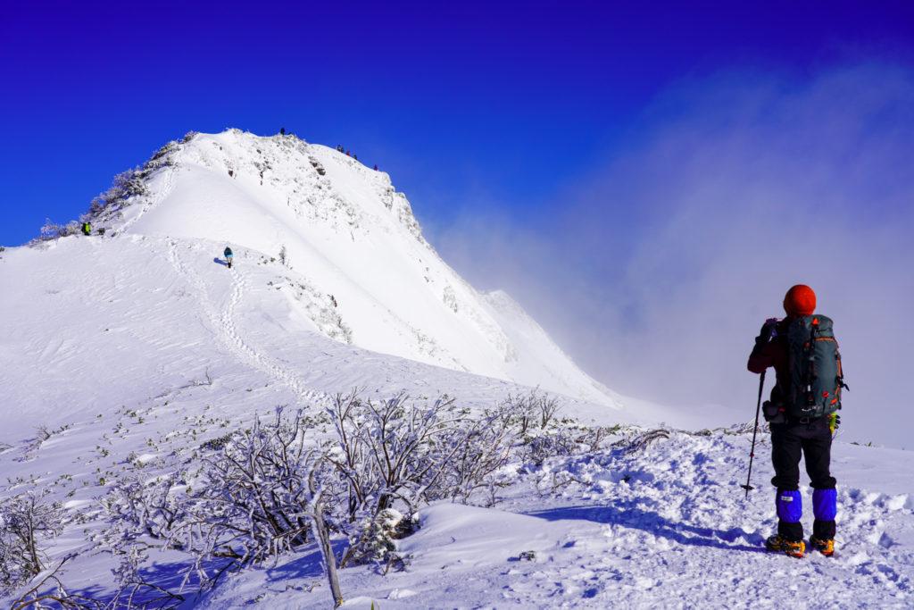 厳冬期・武尊山・剣ヶ峰山・剣ヶ峰山
